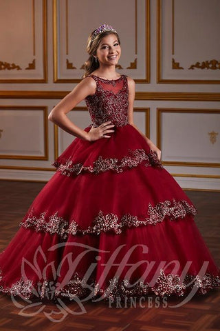 Tiffany Princess 13584 Pageant Gown