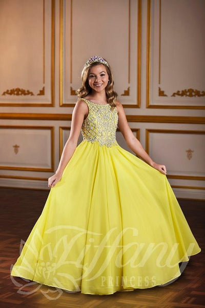 Tiffany Princess 13586 Pageant Gown