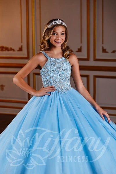 Tiffany Princess 13576 Pageant Dress