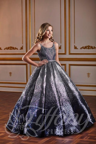 Tiffany Princess 13587 Pageant Gown