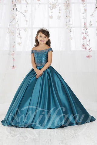 TIffany Princess Style 13554 Pageant Dress