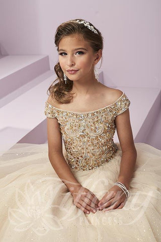 TIffany Princess Style 13487 Pageant Gown