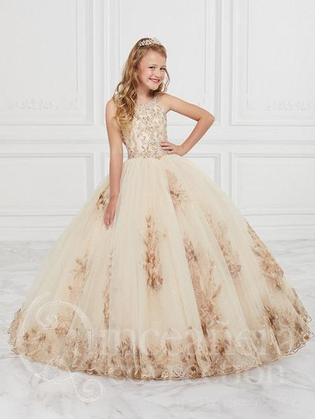 Girls Tiffany Princess Style #26884 Little Sister Pageant Gown