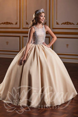 Tiffany Princess 13572 Pageant Gown