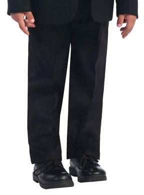 Boys Black Dress Slacks