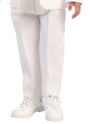 Boys White Dress Slacks