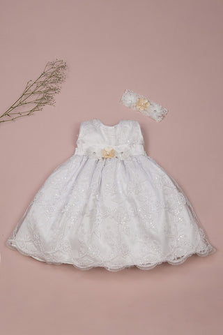 Romy Toddler Baptism or Special Occasion Dress