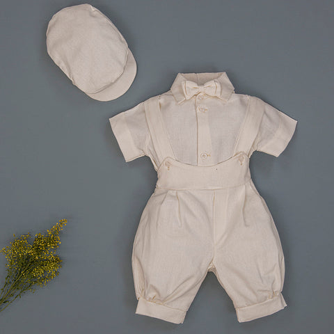 Boys Linen Knicker Set