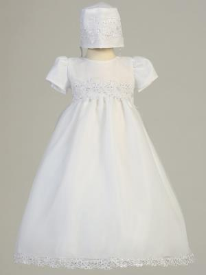 Girls Audrey Christening Gown