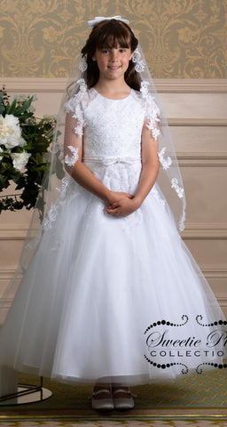 Girls First Communion Couture Dress Style 4041