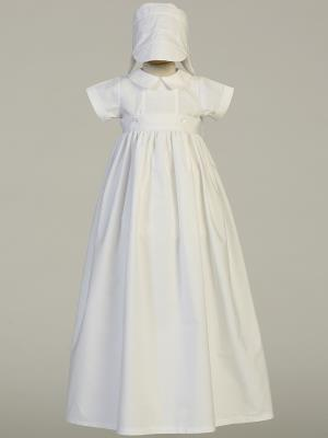 Dominic Christening Detachable Boys Gown