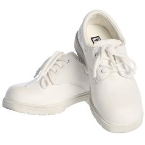 Boys White Michael Leather Dress Shoes