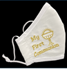 My First Communion Embroidered Mask