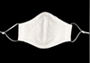 Embroidered Cross First Communion Mask