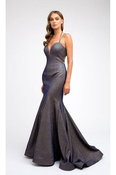 Sweatheart Neckline Glittered Prom Dress