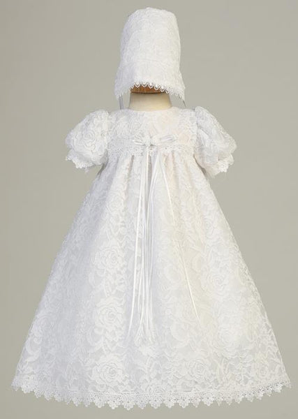Victoria Lace Christening Dress
