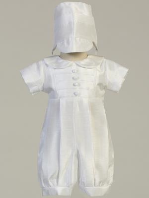 William Shantung Christening Outfit