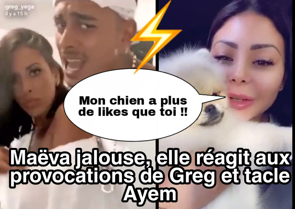 Maëva jalouse, elle tacle fort Ayem à cause de Greg