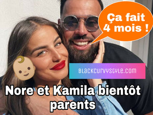 Kamila et Nore bientôt parents, le couple officialise la grossesse de la candidate
