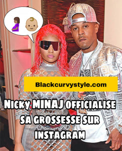 NICKY MINAJ officialise sa grossesse et s'affiche sublime avec son baby bump