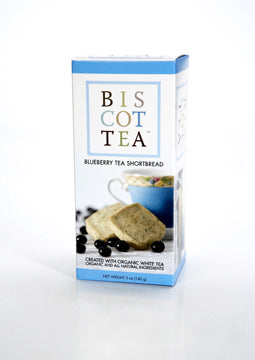 Biscottea Blueberry Tea Shortbread