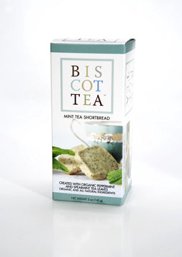 Biscottea Mint Tea Shortbread