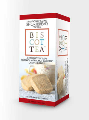 BISCOTTEA TRADITIONAL TEA TIME SHORTBREAD