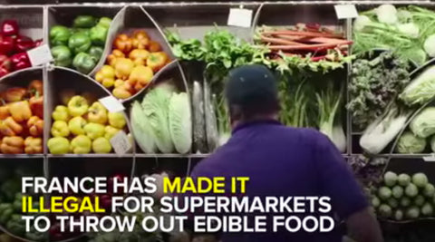 Fed By Threads Featuring France's Law Making It Illegal For Supermarkets To Throw Out Food