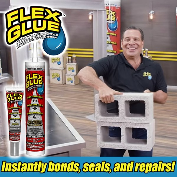 Flex Glue 180ml - RED