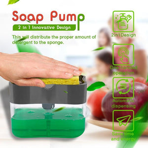03-23T16:51:06+08:00 *** 2-in-1Sponge Rack Soap Dispenser