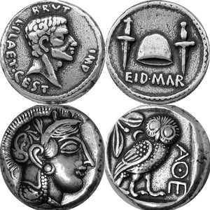03-22T23:35:45-08:00 *** Brutus and Athena / Owl, the two most famous Roman coins