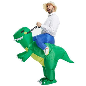 Inflatable Dinosaur Costume