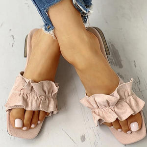 03-23T20:01:19-07:00 *** Vidiashoes Casual Ruched Flat Sandals