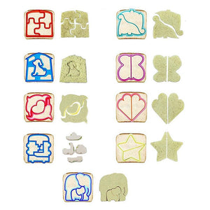 9pcs Animal Sandwich Cutter Kit