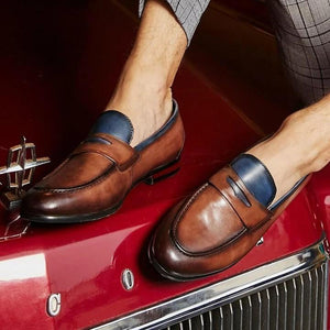 03-22T22:07:13-08:00 *** Men's Leather Handmade Fashion Loafers