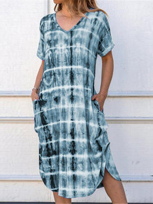 03-23T18:33:09-07:00 *** Tie Dye Long Dress with Pockets