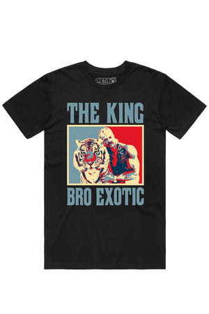 Tue Apr 07 2020 09:09:19 GMT+0300 (Eastern European Summer Time) **** The King Bro Exotic Tee- Black