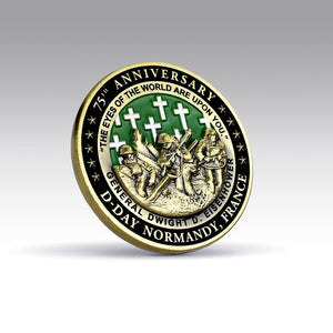 03-23T19:39:38-08:00 *** D-Day 75th Anniversary Commemorative Coin