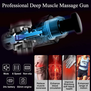 03-23T23:24:18-04:00 *** FREE SHIPPING 4 In One,Relieving Pain,3 Speed Setting Body Deep Muscle Massager