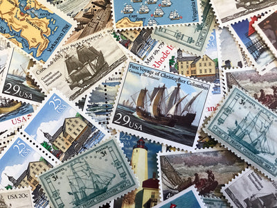 5 Tips for Using Vintage Postage