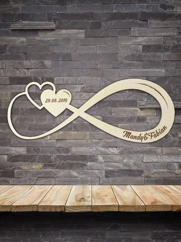 Infinity Sign Personalize