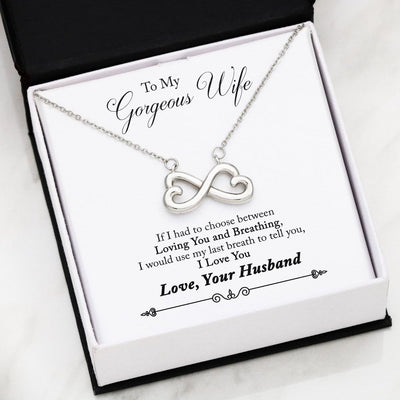 Husband And Wife Last Breath Necklace