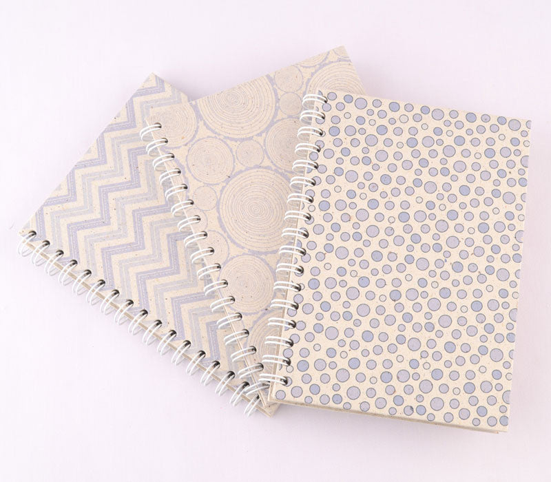 Set of 3 Note Books - Patterns (Medium)