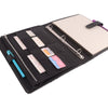 Black Splash- ORIGINAL A4 Leather Ring Binder Organizer