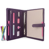ORIGINAL- A4 Leather Ring Binder Organizer