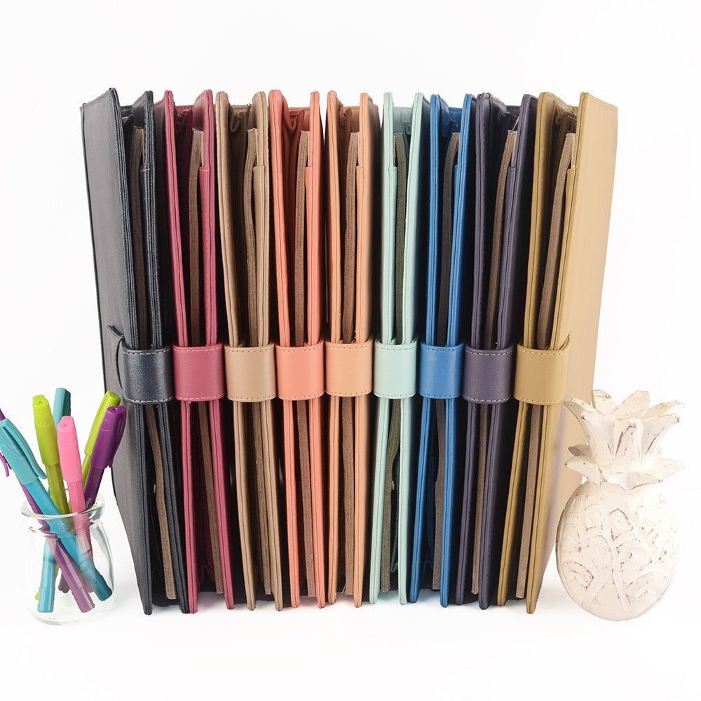 A4 ORIGINAL Leather Ring Binder Organizer by CocoaPaper