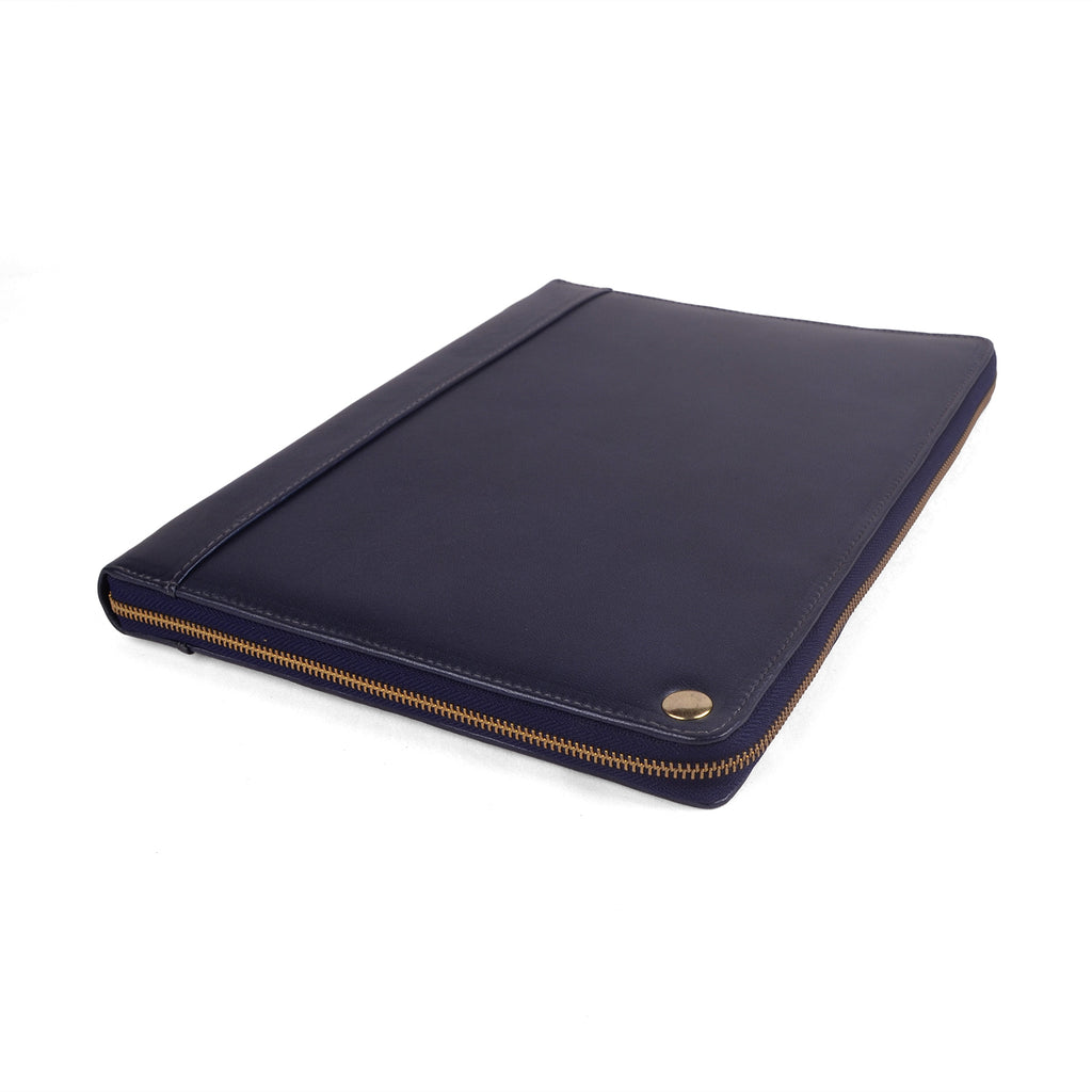 MONARCH- A4 Two Tone Leather Compendium