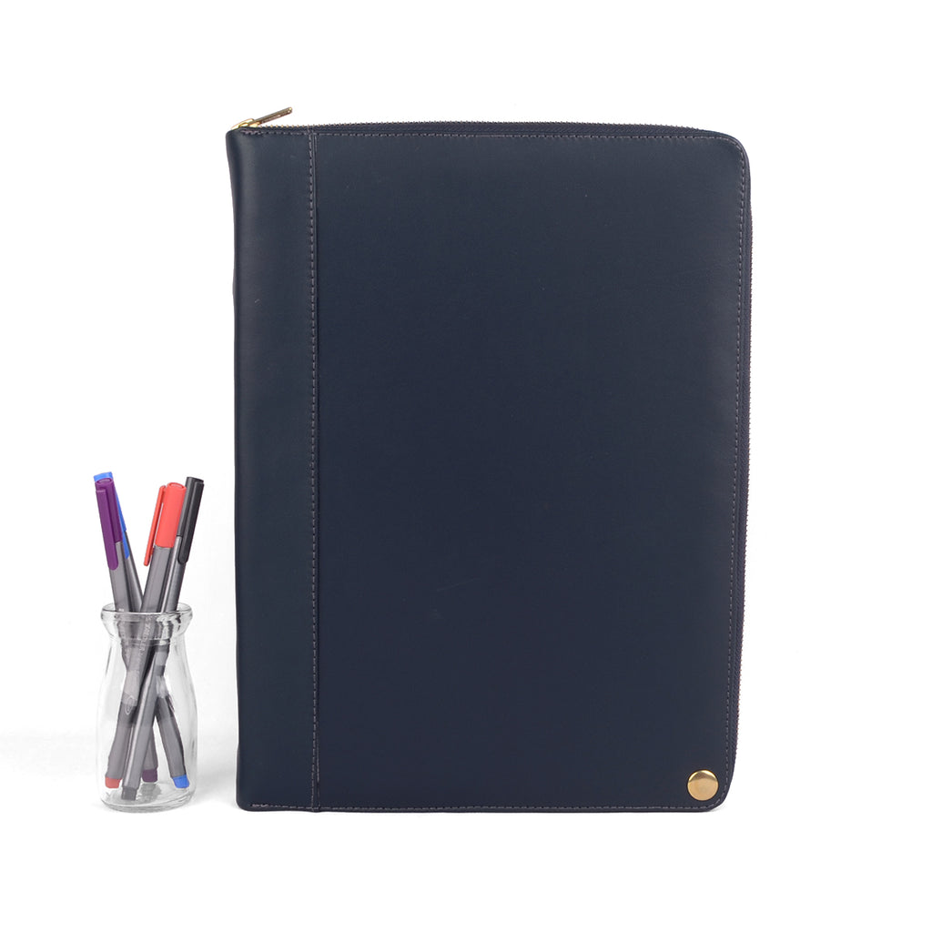 MONARCH- A4 & USA Letter Leather Compendium, Full Leather