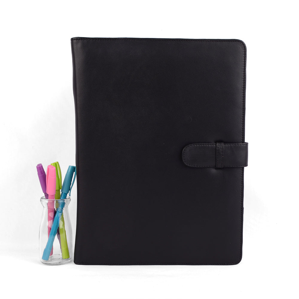 A4 Fabric Lined PadFolio
