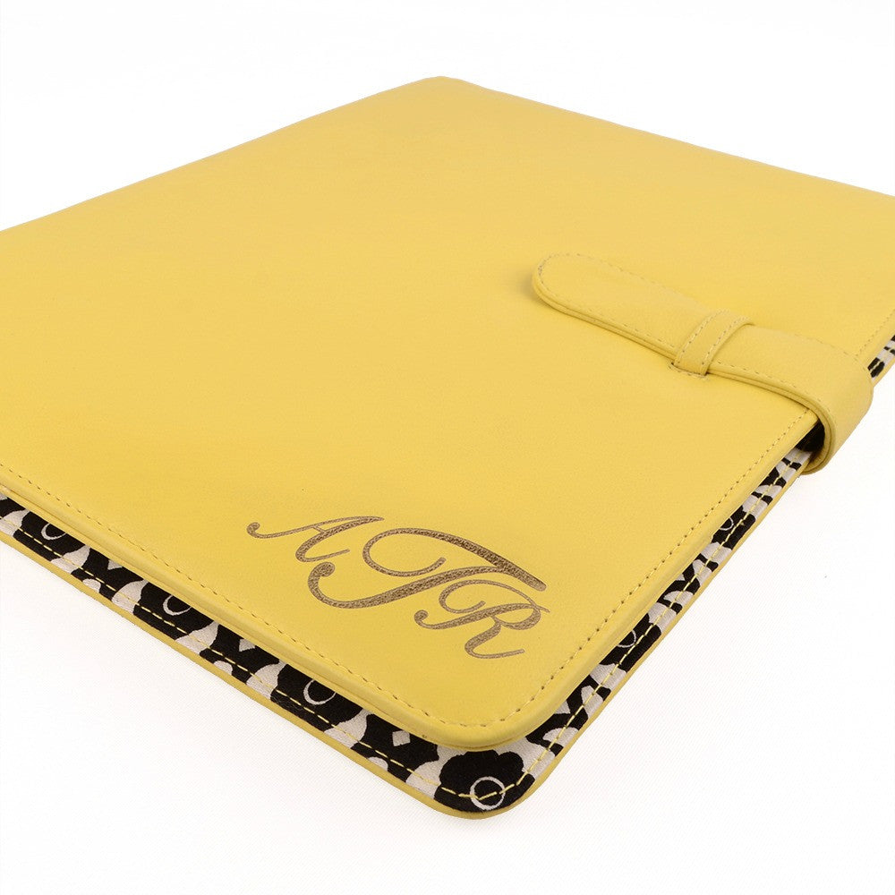 A5 / Half Size Fabric Lined PadFolio